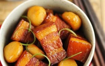 Nấu ăn món ngon mỗi ngày với Nước màu, Công thức cho món thịt kho củ năng đậm đà đưa cơm