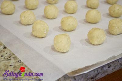Hướng dẫn làm bánh quy chanh nướng cực dễ 4