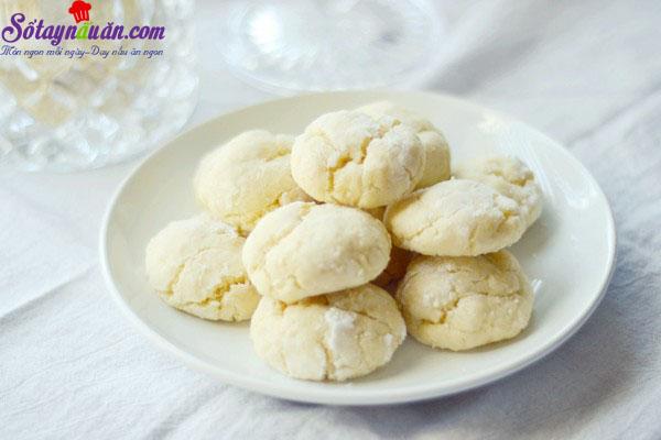 Hướng dẫn làm bánh quy chanh nướng cực dễ 6