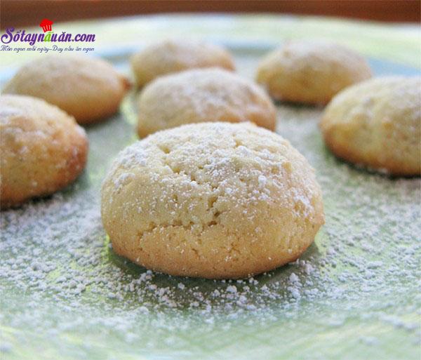 Hướng dẫn làm bánh quy chanh nướng cực dễ kết quả