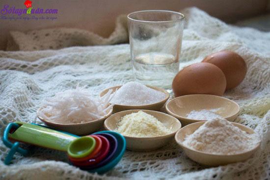 cách làm bánh bông lan caramel dừa 11