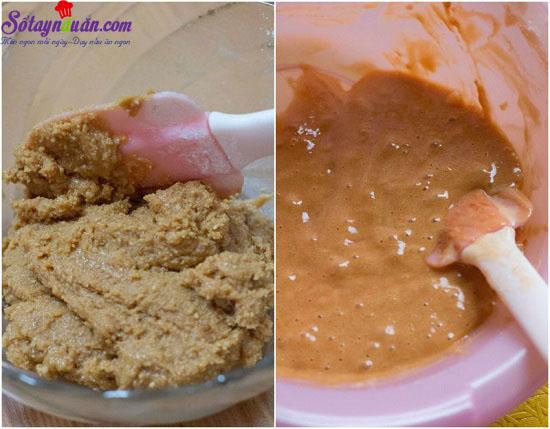 cahcs làm bánh bông lan caramel dừa 7