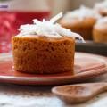 bánh dẻo, cahcs làm bánh bông lan caramel dừa 9