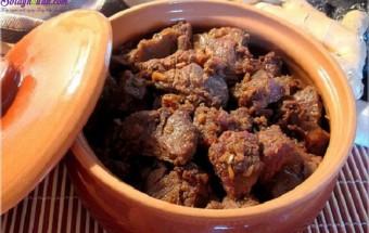 , cách làm thịt bò kho gừng 7