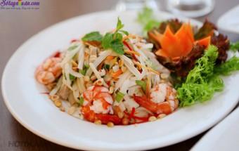 Nấu ăn món ngon mỗi ngày với Lạc rang, cách làm gỏi ngó sen tôm thịt 4