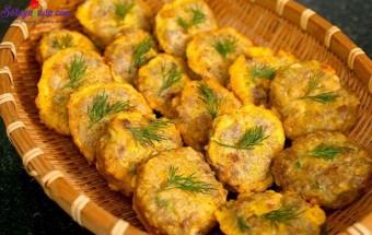 Nấu ăn món ngon mỗi ngày với Tiêu, Cách làm chả thịt đậu phụ 4