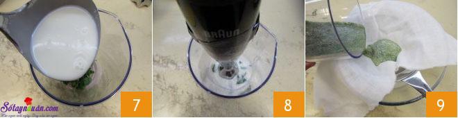 cách làm kem bạc hà socola 3