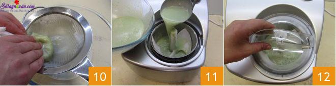 cách làm kem bạc hà socola 4