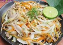 Hướng dẫn làm nộm gà hành tây thơm ngon bổ dưỡng
