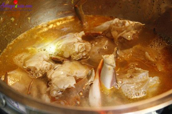 cách làm món ghẹ nấu măng chua 6