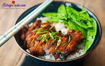 cơm ngon mỗi ngày, Cơm gà teriyaki ngon mê - bạn đã thử? kết quả