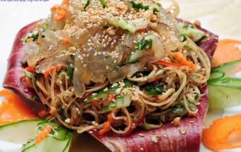 Nấu ăn món ngon mỗi ngày với Chanh, cách làm gỏi sứa bắp chuối 5