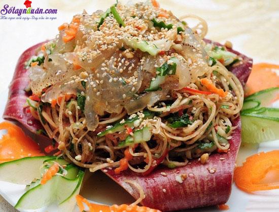 cách làm gỏi sứa bắp chuối 5