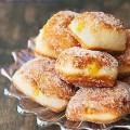 cách làm bánh tiêu, Hướng dẫn làm bánh malasada vị chanh leo thơm ngon kết quả