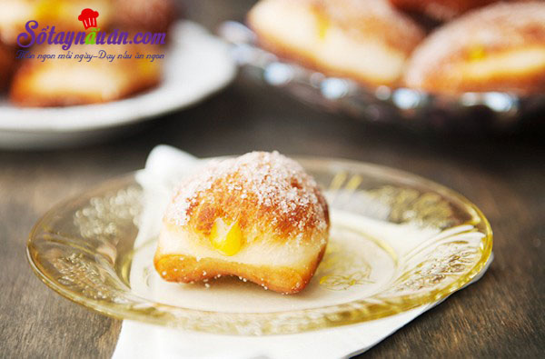 Hướng dẫn làm bánh malasada vị chanh leo thơm ngon kết quả
