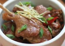 Thịt vịt kho gừng – thơm ngon từng miếng thịt