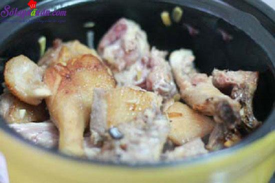 cách làm món thịt vịt kho gừng 6