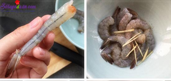 Cách làm tôm tẩm vừng chiên giòn 1
