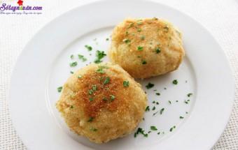Nấu ăn món ngon mỗi ngày với Khoai tây, cách làm bánh cá hồi với khoai tây nghiền 11