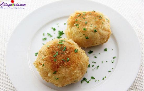 cách làm bánh cá hồi với khoai tây nghiền 11