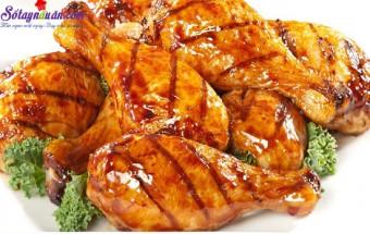 Nấu ăn món ngon mỗi ngày với Nước tương, cách làm đùi gà rim mật ong 5
