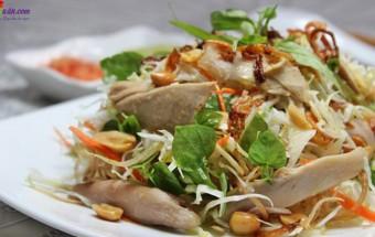Nấu ăn món ngon mỗi ngày với Ớt sừng, cách làm gỏi gà 4