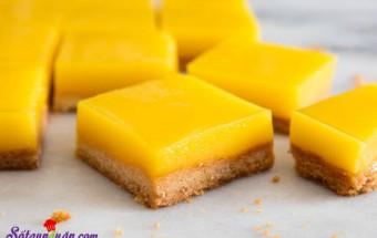 các món bánh, Bánh chanh - Lemon bars ngon tuyệt bạn không thể bỏ qua kết quả
