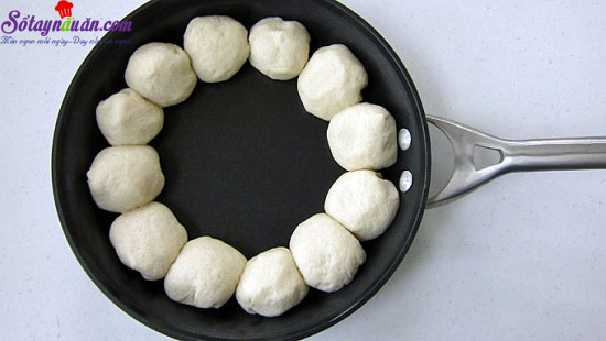 cách làm pizza chảo nhúng 6
