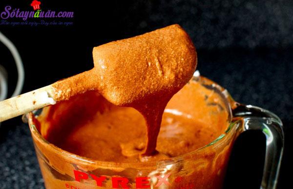 Cách làm bánh bông lan chocolate ngon mê mẩn 5