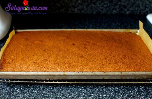 Cách làm bánh bông lan chocolate ngon mê mẩn 6