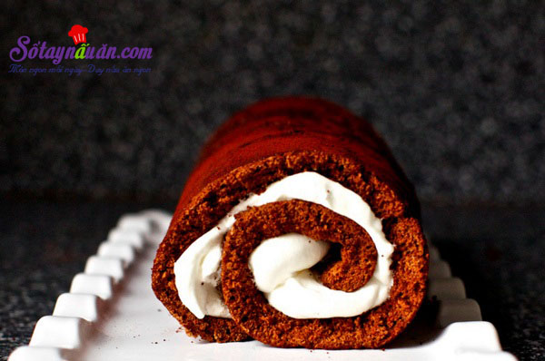 Cách làm bánh bông lan chocolate ngon mê mẩn kết quả