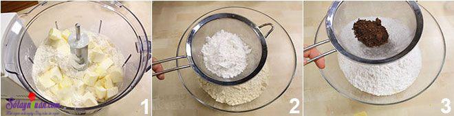 cách làm bánh quy kem 1