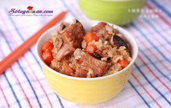 Nấu ăn món ngon mỗi ngày với 1 củ cà rốt, Cách làm cơm sườn cực nhanh cực ngon kết quả