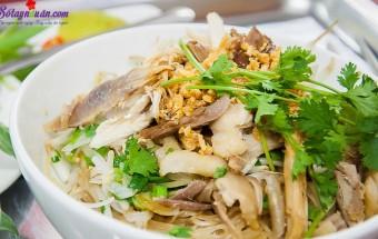 Nấu ăn món ngon mỗi ngày với Đậu phộng, cách làm miến gà trộn giá 5