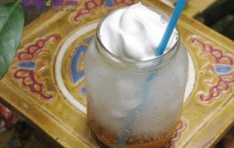 Nấu ăn món ngon mỗi ngày với Đá viên, Cách làm soda vị caramel mát lạnh ngon tuyệt cú mèo kết quả