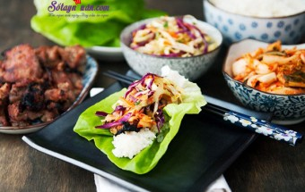 món ăn nhậu, Cách làm thịt nướng Hàn quốc với sốt lê ngon mê mẩn kết quả