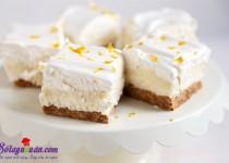 Học cách làm cheesecake chanh thơm và ngon tuyệt