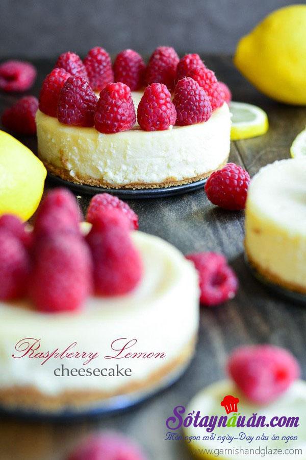 Học cách làm cheesecake chanh thơm và ngon tuyệt kết quả