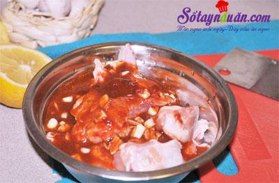Ngất ngây gà nướng cay vị Hàn quốc siêu ngon 4