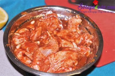 Ngất ngây gà nướng cay vị Hàn quốc siêu ngon 5
