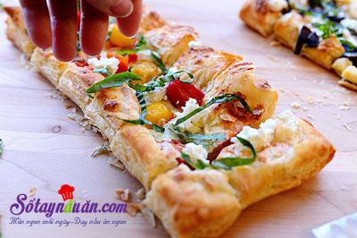pizza làm từ vỏ bánh pastry vị ngon khó chối từ 6