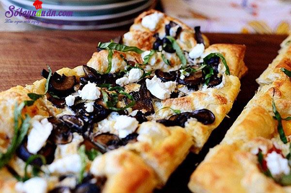 pizza làm từ vỏ bánh pastry vị ngon khó chối từ kết quả