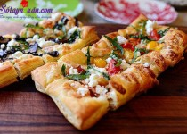 pizza làm từ vỏ bánh pastry vị ngon khó chối từ