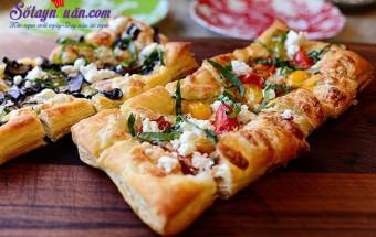 Món ăn tây, pizza làm từ vỏ bánh pastry vị ngon khó chối từ kết quả