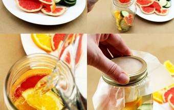 lá bạc hà, 4 công thức nước detox cơ thể 4