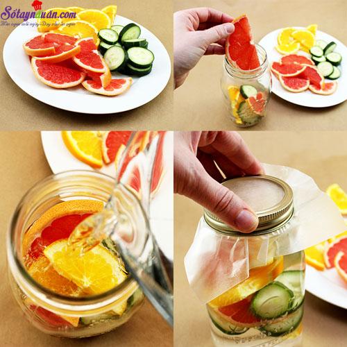 4 công thức nước detox cơ thể 4