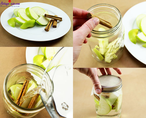 4 công thức nước detox cơ thể 2