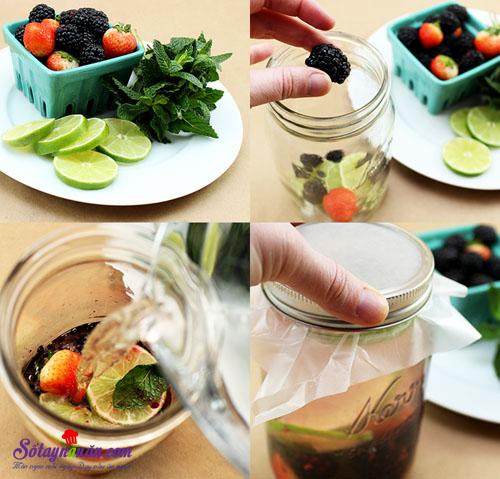 4 công thức nước detox cơ thể 3