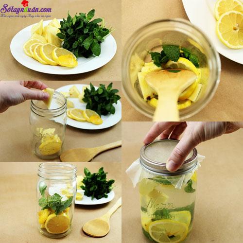 4 công thức nước detox cơ thể 1