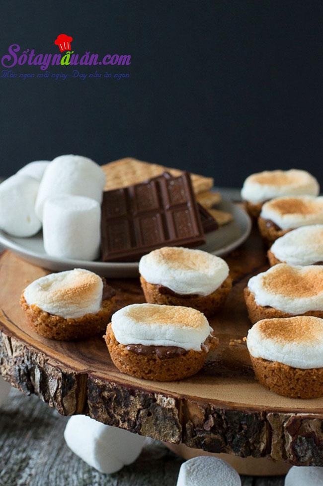 Bánh cupcake Some More cho những chuyến picnic kết quả